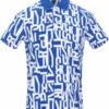 Рубашка Bikkembergs поло с принтом